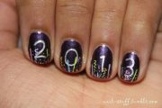 awesome year nail art design