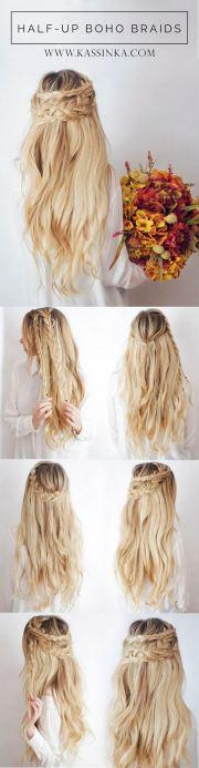 valentine day hair tutorials