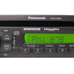 Wiring Diagram Motorcycle Alarm Fender Jaguar Hh Panasonic Cq5109u Semi-truck Heavy Duty Am/fm/wma Mp3 Cd Radio W/ Weatherband - 12volt-travel®