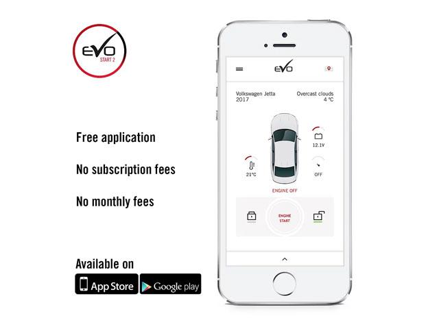 Fortin EVO-START 2 Smartphone Remote Starter Module