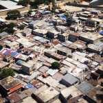 Haiti aerial photograph