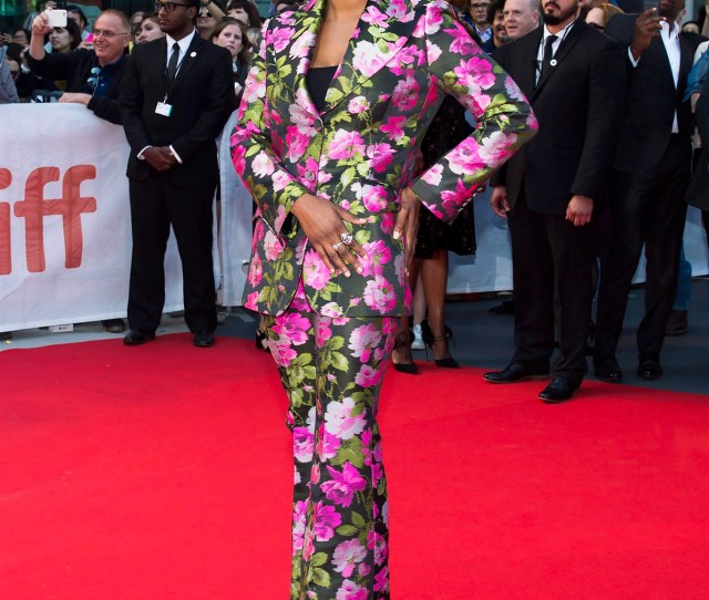 Director Dee Rees Poses For Photographs On The Red Carpet For The Movie Mudbound During The 2017 Toronto International Film Festival In Toronto On Tuesday
