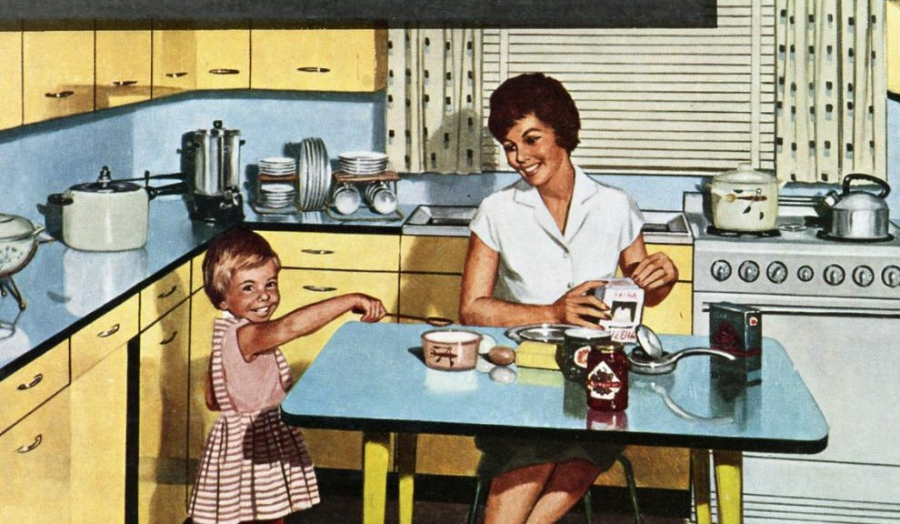 meuble cuisine année 50