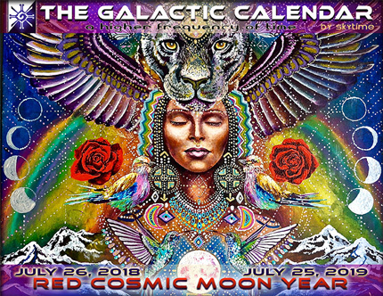 Image result for mayan new year red cosmic moon