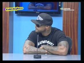 Booba à la télévision Gabonaise