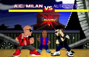 Booba vs La Fouine, version Street Fighter arbitré par Zlatan