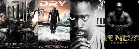 Maitre Gims, Kaaris, Dry, Fababy dans le Top Album : les chiffres des ventes
