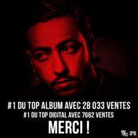 Lacrim : Corleone, N°1 au Top Album avec 28 033 ventes !
