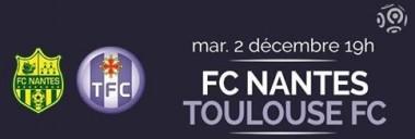 Nantes - Toulouse : 1-2 (résumé vidéo)