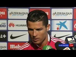Cristiano Ronaldo clash une journaliste en direct à la TV (video)