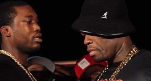 Meek Mill clash 50 Cent qui répond !