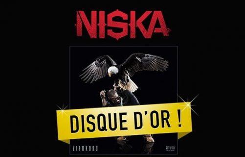Niska est Disque D'Or avec Zifukoro !