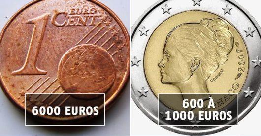 Certaines pièces d'euros peuvent vous rapporter une fortune !