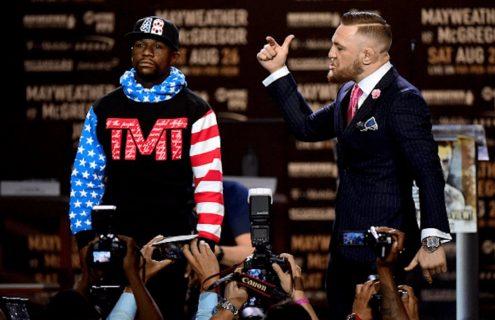 Floyd Mayweather vs Conor McGregor : le combat est lancé lors d'une conférence de presse !