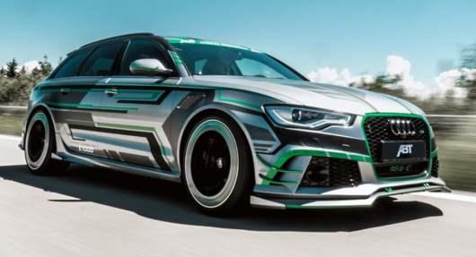 L'Audi RS6 Avant inédite est plus puissante qu'une Bugatti Veyron ! (Vidéo)