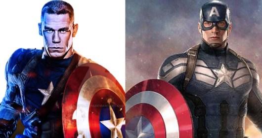 Le catcheur John Cena devrait reprendre le rôle de Captain America !