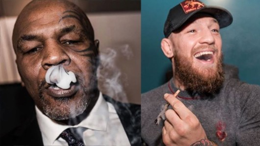 Conor McGregor et Mike Tyson font la paix en fumant de la weed !