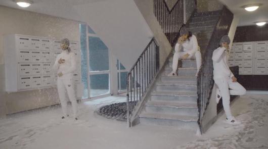 Bene dévoile le clip Cage d'escalier