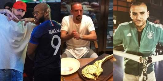 Sofiane et Dosseh réagissent à la polémique sur Franck Ribéry avec son steak enrobé de feuilles d'or