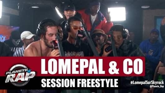 Lomepal met le feu dans les studios de Skyrock avec un freestyle d'anthologie !