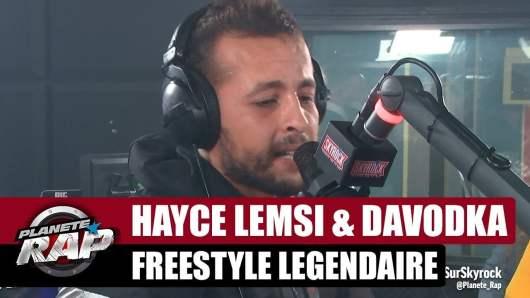 Hayce Lemsi et Davodka lâchent un Freestyle légendaire sur Skyrock !