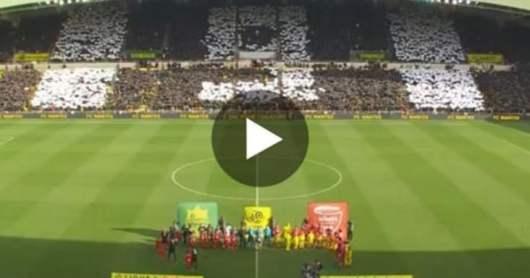 Emiliano Sala : L'hommage magnifique de la Beaujoire !