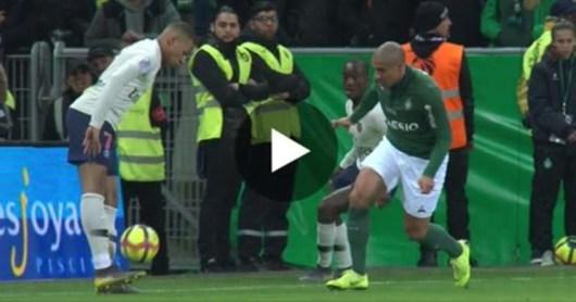 Kylian Mbappé : son geste géniale face à St-Etienne pour dribbler Khazri