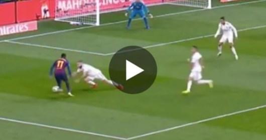 Dembélé humilie Carvajal avec dribble destructeur ! (Vidéo)