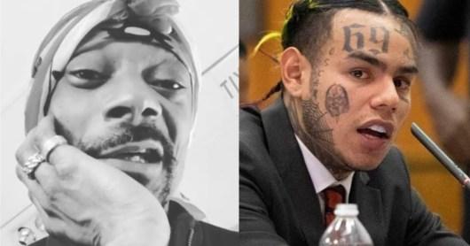 6ix9ine violemment insulté par Snoop Dogg ! (Vidéo)