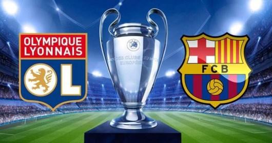Lyon vs Barcelone en direct streaming légal