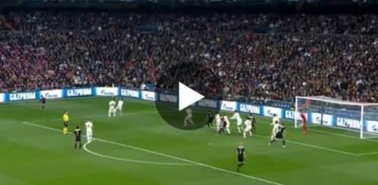 Le coup franc magnifique de l'Ajax qui élimine le Real Madrid de la Champions League
