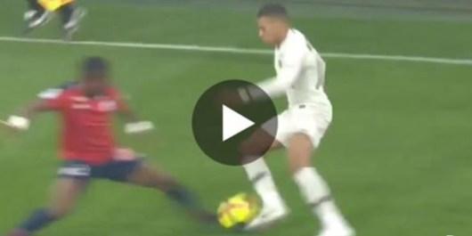 Kylian Mbappé : sa superbe passe décisive pour Bernat après un festival pour éliminer 2 défenseurs