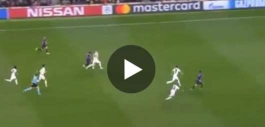Messi humilie le défenseur de Manchester, Jones avec des dribbles destructeurs !