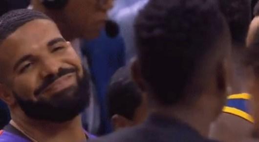 Drake s'emporte au bord du terrain lors de la finale NBA et s'embrouille avec les joueurs