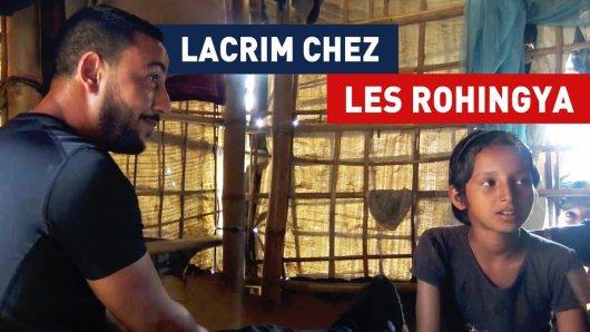 Lacrim a rencontré une enfant Rohingya dont le destin l'a bouleversé [Vidéo]