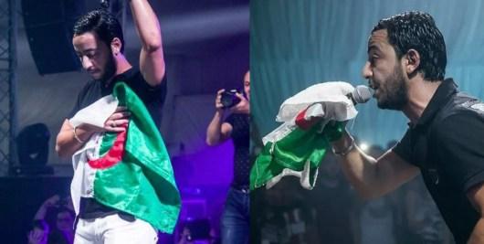 Lacrim présente un maillot de sa marque Plata o Plomo en hommage à l'équipe d'Algérie !