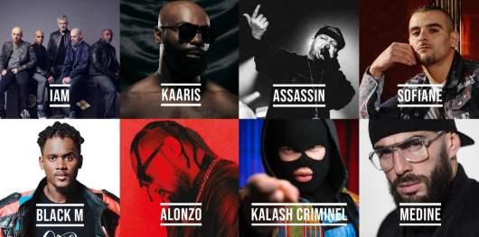 Kaaris, Black M, Sofiane, Médine, IAM, Alonzo à l'affiche du festival 100% Hip Hop : Révolution !