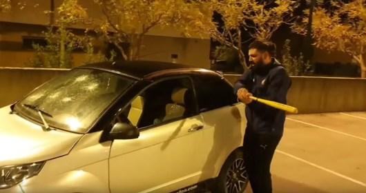 Mohamed Henni défonce sa voiture après la lourde défaite de l'OM face au PSG