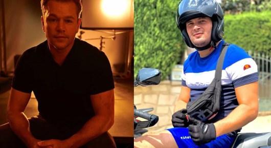 Jul : Matt Damon reprend son célèbre signe du rappeur Marseillais qui lui adresse un message !