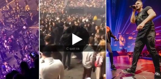 Jul : des fans du PSG cagoulés débarquent de force à son concert Parisien pour semer la panique