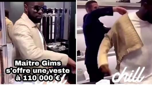 Gims s'achète une veste en alligator à 110 000 euros [Vidéo]