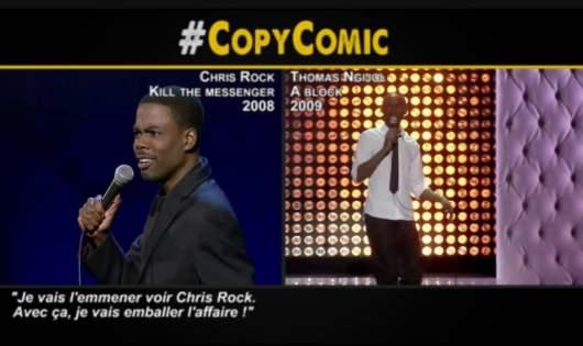 Thomas Ngijol : CopyComic répond à l'humoriste après avoir été traité de Copy Nazi