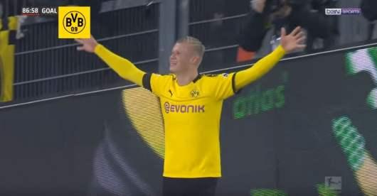 Erling Braut Håland a encore marqué avec un doublé en seulement 9 minutes [Vidéo]