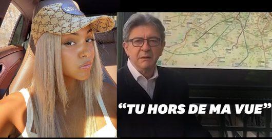 Mélenchon s'inspire de Wejdene pour s'en prendre à Macron sur TikTok « Tu hors de ma vue... »
