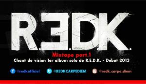 R.E.D.K. présente la Mixtape part 1 mixé par DJ Sya Styles en téléchargement gratuit