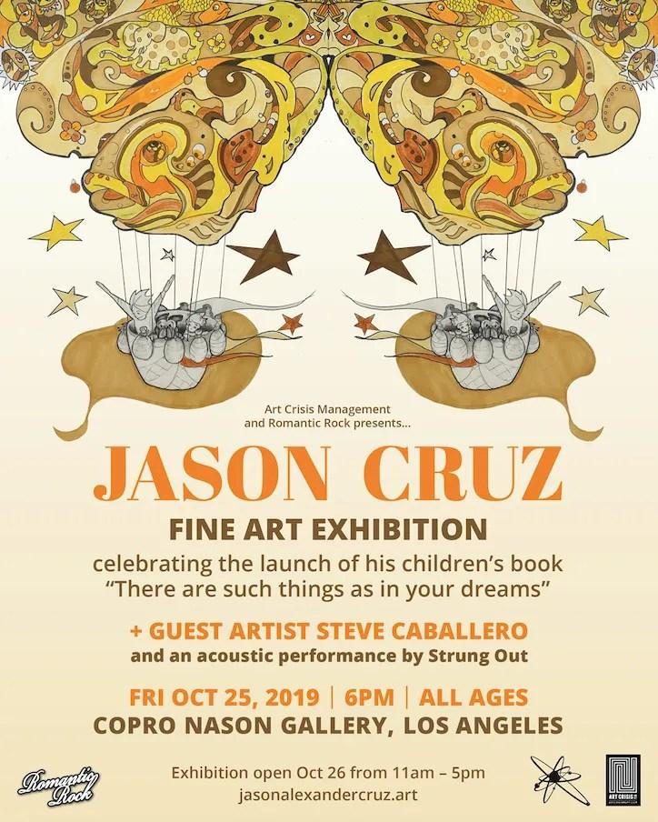 Jason Cruz Fine Art Exhibition