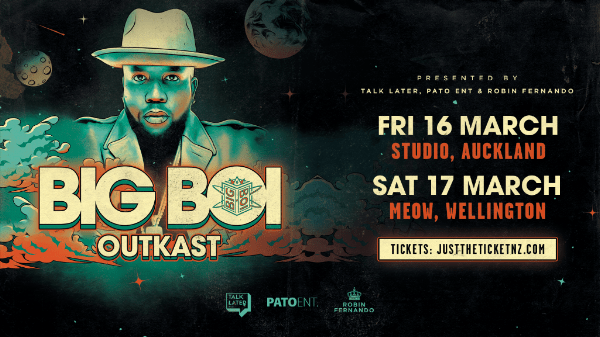 Seven Time Grammy Award Winning Artist Big Boi Is Returning To New Zealand  For Two Headline Performances In March, 2018. The Atlanta Born Rapper,  Producer, ...