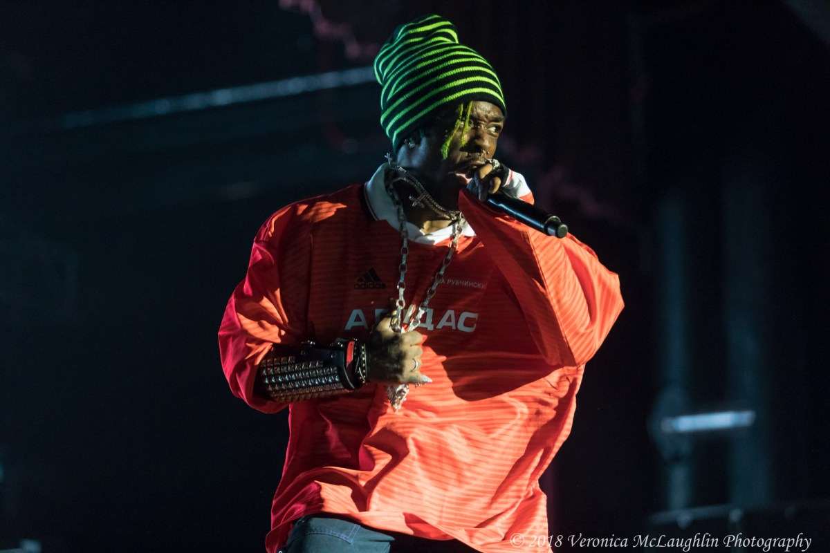 Lil Uzi Vert Delivers a Spectacular Set to Fans at Logan Campbell Centre