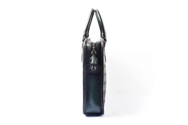 1403 007 Croc briefcase