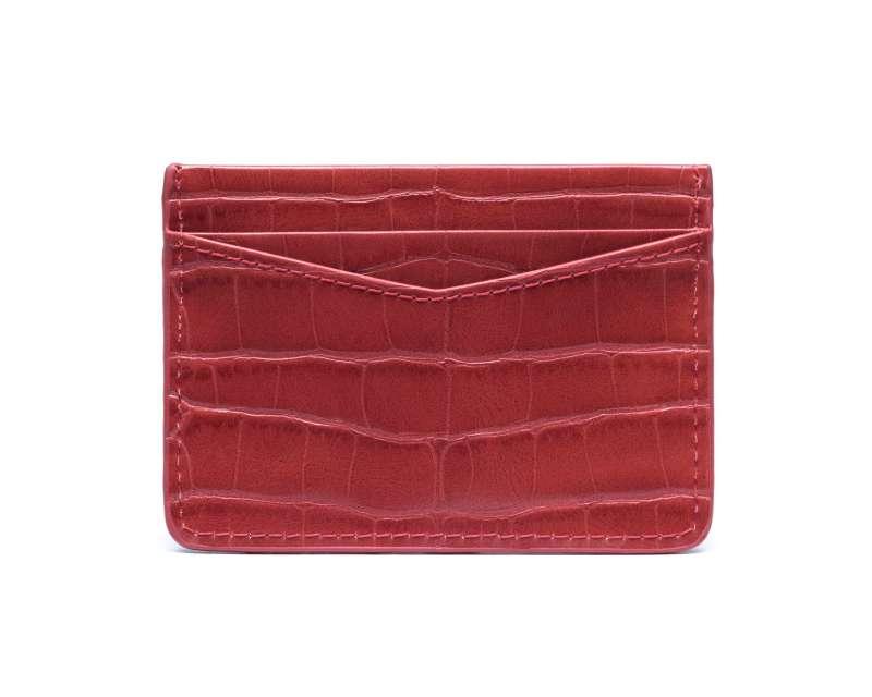 1403 Red Card Holder